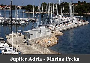Marina Preko Jupiter Adria